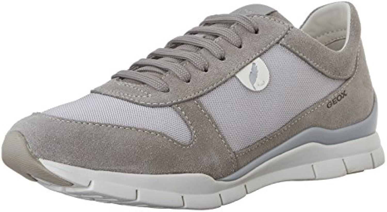 Geox D Sukie A Damen Sneaker 2018 Letztes Modell  Mode Schuhe Billig Online-Verkauf