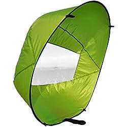 """Voile de Kayak 42 """"portable Sous le Vent du Vent Paddle pour Bateau Gonflable - 42 pouces, Vert"""