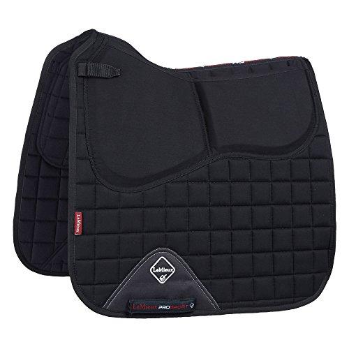 LeMieux Sport-Schabracke mit Pro-Sorb-System, quadratisch L schwarz -
