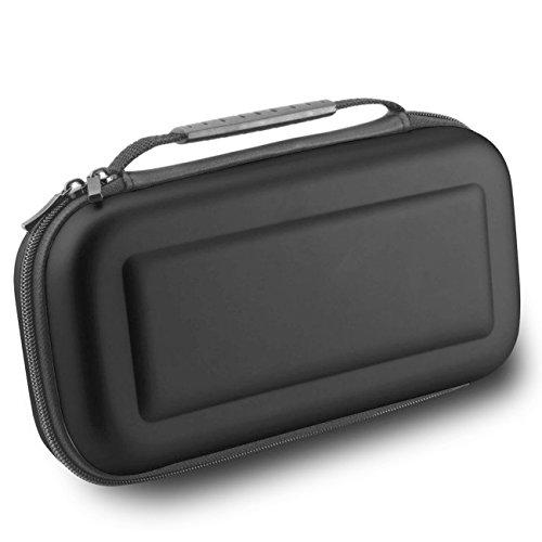 Nintendo Switch Tasche - WindTeco Harte Reise Tragetasche Hülle für Nintendo Switch (Schwarz) - Armee Lego-kits