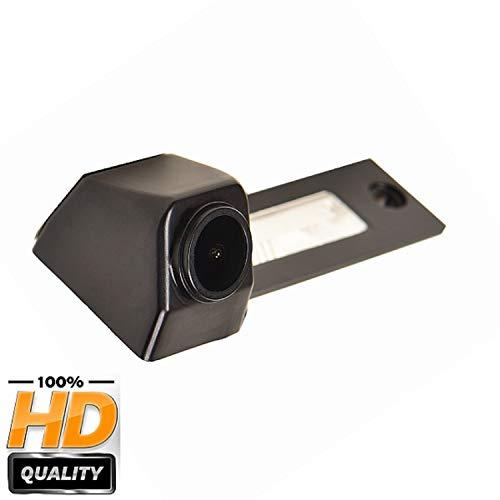 Nachtsicht Wasserdicht Farbkamera 170° HD Rückfahrkamera Kennzeichenleuchte Einparkhilfe Kamera für VW Caddy MK4 Golf R32 Passat B5 B6 Golf IV Plus Sharan Touran T5 Skoda Superb