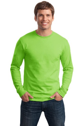 2004 Gelben T-shirt (Hanes TAGLESS® Long-Sleeve T-Shirt L Green)