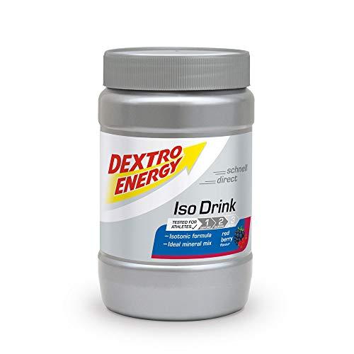 Dextro Energy Isotonisches Sportgetränk Pulver,Red Berry,440g -