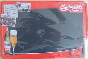 Budweiser Plaque en t�le, 23x35
