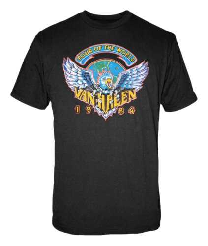 VAN HALEN - Tour of World 1984 - T-Shirt