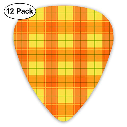 id 351 Shape Classic Celluloid Guitar Pick For Electric Acoustic Mandolin Bass (12 Count) ()
