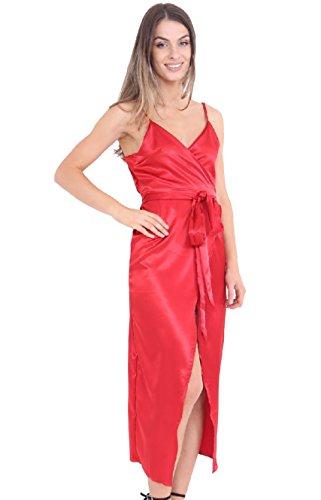 d5c2e66caf7 7 Fashion Road Damen Wickel Kleid Rot -friseur-strubbelliese.de