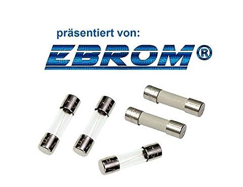 10 Stück ESKA G-Sicherungseinsatz Feinsicherung T 16A 5x20mm 522.030 Träge