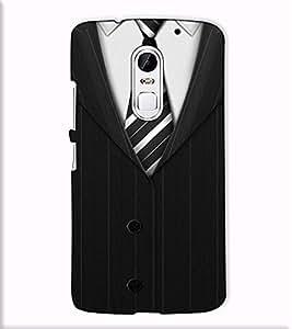 Fuson Designer Back Case Cover for Lenovo Vibe X3 (A Gentleman Wear Theme)