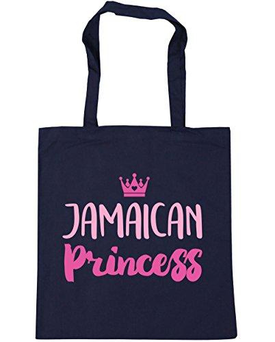 hippowarehouse-jamaican-princess-tote-shopping-gym-beach-bag-42cm-x38cm-10-litres