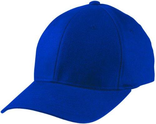 Flexfit ® Fullcap 6 Panel Baseballcap mit geschlossener Rueckseite und Elasthananteil in 13 Farben und 2 Groessen Navy,S/M fuer 56/57 cm Kopfumfang