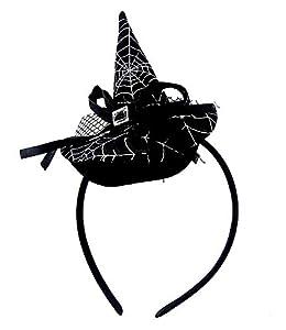 Diadema de bruja halloween accesorios