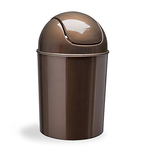 Umbra Mini Abfälle können bronze - Mini-bronze-finish