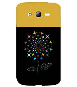 printtech Colored Flower Pattern Back Case Cover for Samsung Galaxy Grand i9080 / Samsung Galaxy Grand i9082