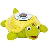 Ozeri Turtlemeter- tortuga flotante de juguete para el baño del bebé y el termómetro de la bañera