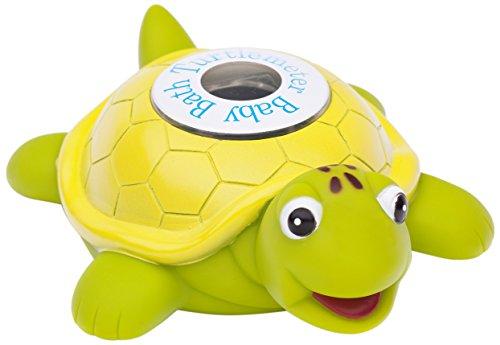 Turtlemeter - Tartarugometro - Tartaruga galleggiante per il bagnetto del tuo bambino - Giocattolo e termometro