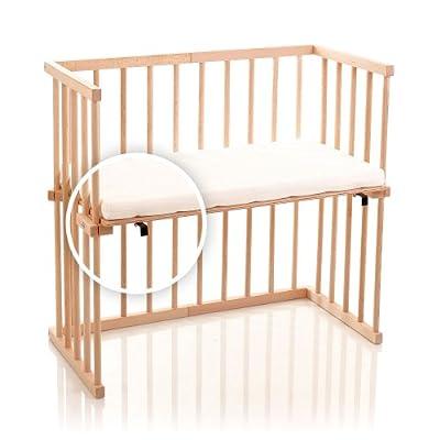 dreamgood-135135auxiliar cama haya con colchón Prime Air y nido, color marrón