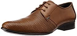 Lee Cooper Mens Tan Leather Formal Shoes - 9 UK