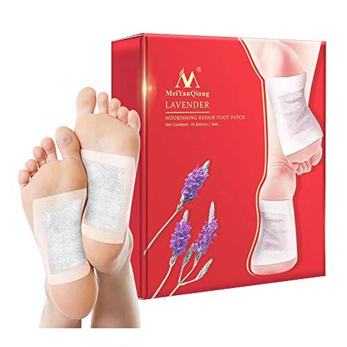 KOBWA rganic Foot Pads Natural Body Cleansing-Für Körper Entlastung und Reinigung verbessert Den Schlaf Rapid Schmerzen & Stress Relief - Schlaf Stress Relief