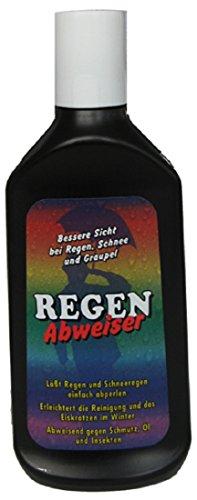 Regenabweiser 250ml - Schwarz nach dem neuesten Standart produziert, lässt Regen und Schneeregen einfach abperlen