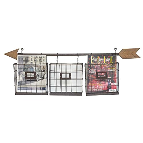 QFF Kreatives Lagerregal, Retro- Art-Eisenkunst Wand-angebrachtes Pfeilspitzenschlafzimmerwohnzimmer Café Handelsgeschäft Wanddekoration 102 * 17 * 35CM Einzigartiger Stil ( größe : 102*17*35CM ) -