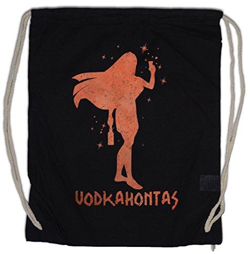 Urban Kostüm Dance - Urban Backwoods Vodkahontas Turnbeutel Sporttasche