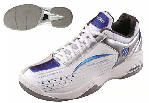 Yonex SHT-204C White/Blue - scarpe con suola liscia Tennis palasport - Taglia 40