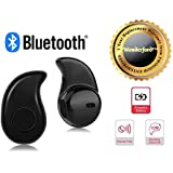 Wonderford Ultra Small Bluetooth 4.0 Stereo Wireless Headset S530 Earphone Compatible With Xiaomi Mi, Apple IPhone & IPad, Samsung, Sony, Lenovo, Oppo, Vivo And All Smartphones (1 Year Warranty, Assorted Colour)