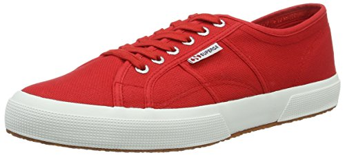 Superga 2750- Cotu Classic, Low-top mixte adulte Rot (Red-White)