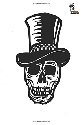 Notebook Paradise: Skull In Top Hat