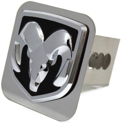 dodge-ram-chrome-metal-hitch-cover-2-hitch-receivers-mirror-mopar-by-dantegts