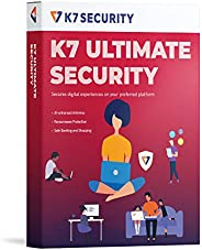K7 Ultimate Security Antivirus Software 2021  1 Devices, 1 Year Threat Protection,Internet Security,Data Backu