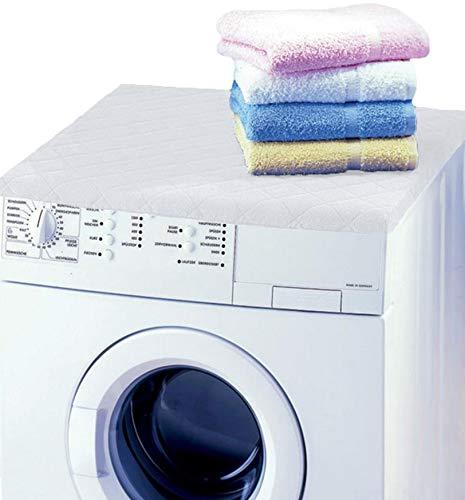 Betz copertura per lavatrice asciugatrice misura 60x60x4 cm colore bianco