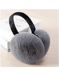 Ohrenschützer CHENGYI Mode Haarige weiche Ohrwärmer Warm Winter Earmuff (Farbe : C)