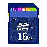 SD Card, Classe 10 Ad Alta velocità della Scheda di Memoria della Fotocamera Digitale Impermeabile Fino A 94 MB/S di Trasferimento Veloce E 4K UHD per Dash Cam/Camera,16GB