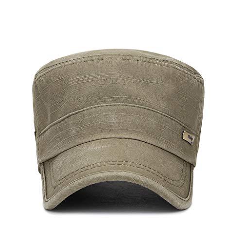 Fenverk Herren Baseball Cap Classic Vintage Cotton Basecap Snapback Caps Outdoor Kappe MüTze Unisex Kappen Hut Frauen MäNner(D Grün) -