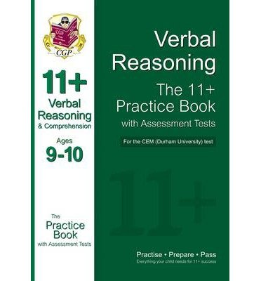 By CGP Books - 11+ Non-Verbal Reasoning Practice Book with Assessment Tests (age 9-10) for the CEM Test