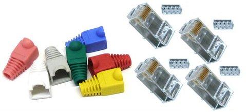 50-cat-6-rj45-plugs-boots-for-network-patch-cables-crimp-connectors-lan