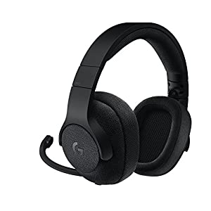 Logitech G433 Gaming-Headset, 7.1 Surround Sound, DTS Headphone:X 3D, 40mm Pro-G Treiber, USB-Anschluss & 3,5mm Klinke, Abnehmbares Mikrofon, PC/Xbox One/PS4/Nintendo Switch – Triple Black/schwarz