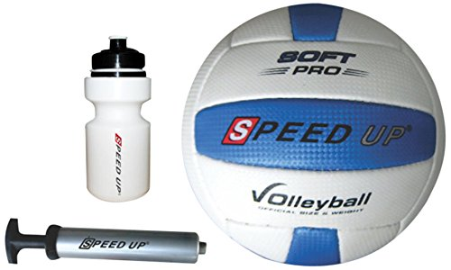 Speed Up Volleyball Set, Multi Color (3 Piece)