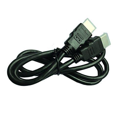nansii High Speed HDMI-Kabel–(Full HD) unterstützt 3D TV-Audio Return Channel–4Kx2K–1440p–1080p–Blu-ray HDMI zu HDMI (6Füße)