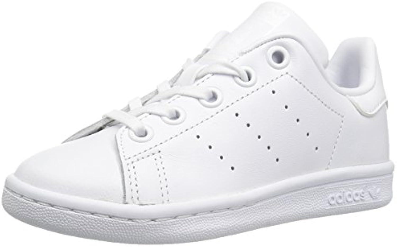 les baskets adidas originaux unisexe unisexe unisexe stan smith c, nous le petit blanc, 1,5 moyennes bcf2fa