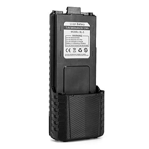 Baofeng BL-5 3800mAh Batteria di grande capacità per Baofeng UV-5R/UV/5RTP/UV-5R Plus Walkie Talkie Dual-band Radio