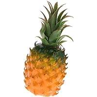 Sharplace Fruta Artificial de Piña, Accesorios de Decoración de Casa Tienda de Color Amarillo