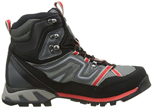 MILLET High Route Mesh, Chaussures de Randonnée Hautes Homme Multicolore (Grey/Red)