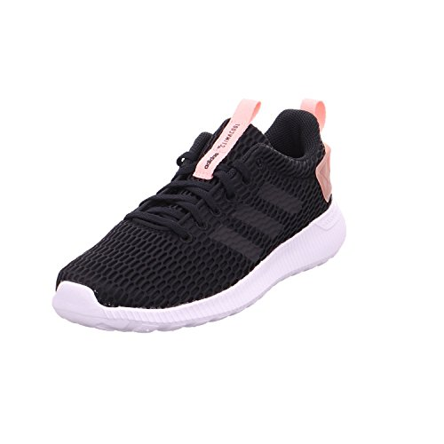 adidas Damen CF Lite Racer Cc W Fitnessschuhe  Schwarz (Core Black/Core Black/Haze Coral S17)