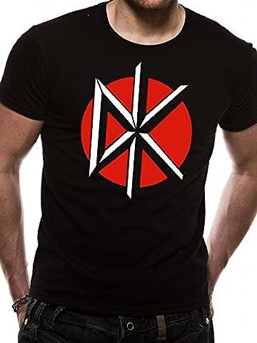 Cid Men's Dead Kennedy'S-Circle Logo T-Shirt, Multicolored,
