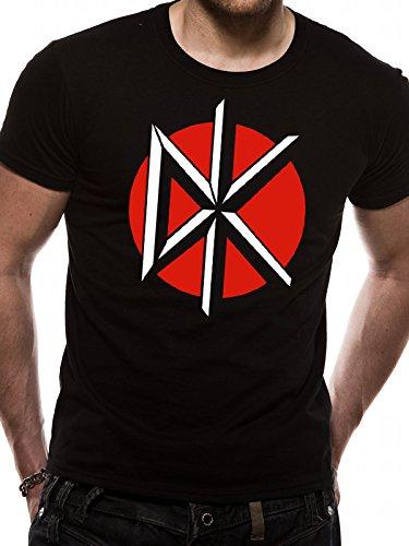 Cid Dead Kennedy's-Circle Logo, T-Shirt Uomo Nero