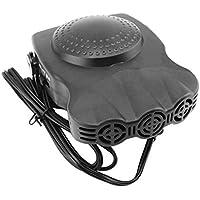 12V 150W Auto Calentador de automóvil Portátil 2 en 1 Ventilador de enfriamiento de calefacción Secador de automóviles Desempañador del parabrisas Desempañador con manija abatible