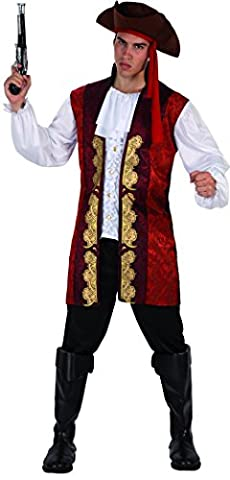 Costume Pirate Hat - Phertiful Men's Pirate Costume For Halloween